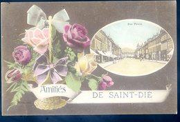 Cpa Du 88 Amitiés De Saint Dié Rue Thiers   DEC19-29 - Saint Die