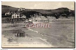CPA Espagne Spain Espana Fuentarrabia Villas De La Playa Y Monte Santelmo - Espagne