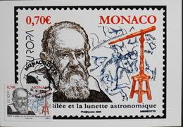 Monaco > Cartes-Maximum > 2009 - JOUR D'EMISSION - Daté 04.V.2009  - Parfait état - Maximumkaarten