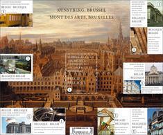 Blok 171** De Kunstberg Te Brussel Met Zegels 3941/50**  Bloc 171 Xx Mont Des Arts Bruxelles- BF 171 MNH - Blocs 1962-....