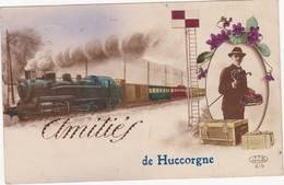 43023 -  Amitiés De  Huccorgne Envoyé  1924 - Hoei