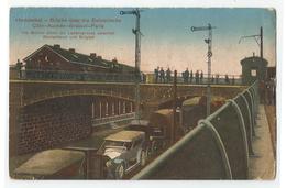 AK Herbesthal Brücke, Eupen, Grenze Zu Belgien, Auto - Eupen Und Malmedy