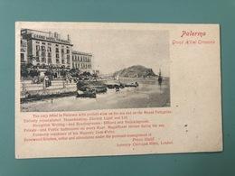 PALERMO PALAZZO TRIBUNALI E HOTEL DE FRANCE  1910 - Palermo