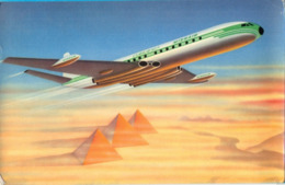 UAR. MISRAIR (United Arab Airlines). The COMET 4c JET - ` De Havylland`. - 1946-....: Era Moderna