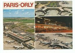 CPM Aéroport De PARIS ORLY Multivues Et Vue Aérienne Sur Les Pistes - Sin Clasificación