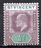 SAINT VINCENT - (Colonie Britannique) - 1902 - N° 55 Et 56 - (Lot De 2 Valeurs Différentes) - (Edouard VII) - St.Vincent (...-1979)