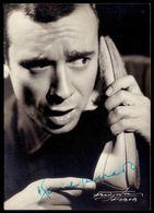 Comediante / Actor RAUL SOLNADO. Postal Com Assinatura / Autografo Signed / Autographe. Vintage Postcard PORTUGAL - Lisboa