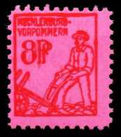 SBZ MECKLBRG VORP. Nr 11y Postfrisch X651FDA - Zona Soviética
