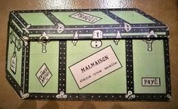CARTE A SYSTEME CHATEAU DE MALMAISON SALON DE MUSIQUE CHAMBRE DE BONAPARTE MALLE - Rueil Malmaison