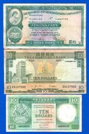 Hong Kong  3  Billets - Hong Kong