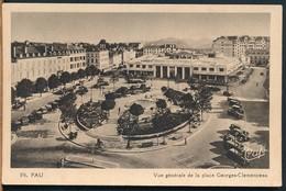 °°° 15364 - FRANCE - 64 - PAU - VUE GENERALE DE LA PLACE GEORGES CLEMENCEAU °°° - Pau