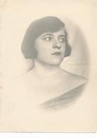 Snapshot Portrait Jeune Femme Coiffure Mode Vintage Woman - Anonymous Persons