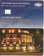ARMENIA - Hotel Yerevan, ArmenTel Telecard 50 Units, Tirage 5000, Exp.date 31/12/06, Dummy Telecard(no Chip, No CN) - Arménie