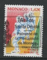 Monaco, Yv 3093 Jaar 2017,   Hogere Waarde,  Gestempeld - Gebruikt