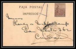 4261/ Argentine (Argentina) Entier Stationery Bande Pour Journal Newspapers Wrapper N°39 1911 - Postwaardestukken