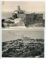 LOT 2 CP PALESTINE * HAÏFA 1°/ Phare Et Villa Du Carmel (Carte Pionnière) 2°/ Phare Du Carmel - Palestine
