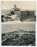 LOT 2 CP PALESTINE * HAÏFA 1°/ Phare Et Villa Du Carmel (Carte Pionnière) 2°/ Phare Du Carmel - Palestina