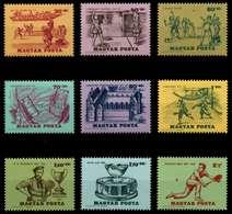 UNGARN Nr 2127A-2135A Postfrisch S03B892 - Ungheria