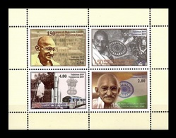 Tajikistan 2019 Mih. 850/53 (Bl.82) Mahatma Gandhi MNH ** - Tajikistan