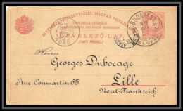 4649 Budapest Lille 1887 Carte Postale Hongrie (Hungary) Entier Postal Stationery - Entiers Postaux