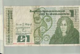 Billet De Banque Irlande - Irelande - 1 POUND  DEC 2019 Gerar - Irlande