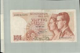 Billet De Banque 50 Francs ROYAUME DE  BELGIQUE 1966  DEC 2019 Gerar - [ 2] 1831-... : Reino De Bélgica