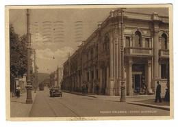 2127 - REGGIO CALABRIA CORSO GARIBALDI ANIMATISSIMA AUTO TRAM AUTOMOBILE 1936 - Reggio Calabria