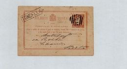 Postal Stationery - Portugal - Tondella - 1880 - Postwaardestukken