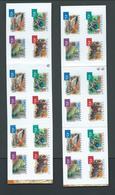 Australia 2001 Desert Birds $9 Booklets Both One & Two Koala Reprints Fine Complete - 2000-09 Elizabeth II