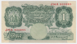 Great Britain 1 Pound 1948 - 1949 AVF+ Pick 369a  369 A - …-1952 : Before Elizabeth II