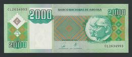 ANGOLA 2000 KWANZAS 2003 UNC - Angola