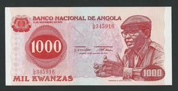 ANGOLA 1000  KWANZAS 1979  UNC - Angola