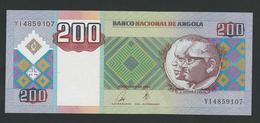 ANGOLA 200 KWANZAS 2003 UNC - Angola