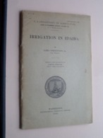 IRRIGATION In IDAHO ( U.S. Dep. Of AGRICULTURE ) 59 Pages With Plan ( Zie / Voir Photo ) - Livres, BD, Revues