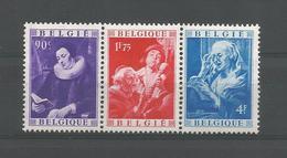 Belgium 1949 Jacob Jordaens Strip OCB 792/794 ** - België