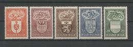 Belgium 1947 Against Tuberculosis  OCB 756/760 ** - Belgique