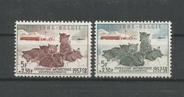 Belgium 1957 Sledgedogs OCB 1030/1031 ** - Belgique