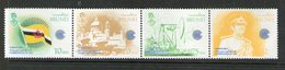 BRUNEI 1983 JOUR DU COMMONWEALTH-DRAPEAUX  YVERT N°292/95  NEUF MNH** - Stamps