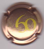 Capsule Champagne ASTREE Vinçent D' ( 18e ; 60 ANS  Rosé Et Or) 4€ {S01-20} - Champagne
