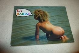 BELLE CARTE ..ENFANT DANS L'EAU ...CA BAIGNE - Scènes & Paysages