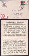 Great Britain - 1969 - Lettre - Centenaire De La Naissance Mahatma Gandhi - Mahatma Gandhi