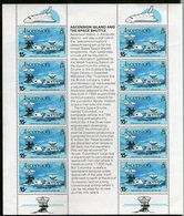 ASCENSION 1981 FEUILLET NAVETTE  YVERT N°276  NEUF MNH** - Ascension (Ile De L')