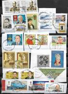 Russia -23 Postal Stamps Of Russia Used - Oblitérés