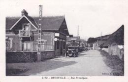 27 - Eure - BROSVILLE - Rue Principale - Autres Communes