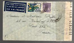 26458 - Pour La France Via AIR FRANCE - Luchtpost