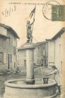 69 - L'AUBEPIN - LA FONTAINE DE MON VILLAGE - JEANNE D'ARC - Other Municipalities
