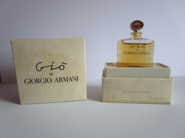 ARMANI - GIO   - EDP -.5 ML - Miniature - Miniatures Femmes (avec Boite)