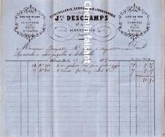 Document Du 15/07/1878 DESCHAMPS Quincaillerie - Albertville 73 - Francia