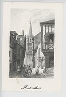 Montivilliers - Gravure - Abbaye - Devotieprenten