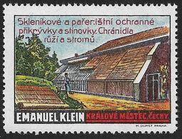 4199r: Reklamemarke Vignette Ca. 1914 **, Emanuel Klein, Tschechische Inschrift - Tchécoslovaquie